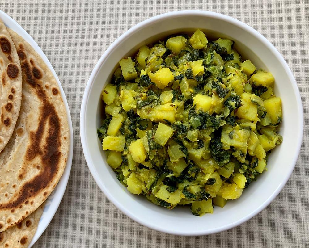 Aloo Methi   The Rasoi Recipes