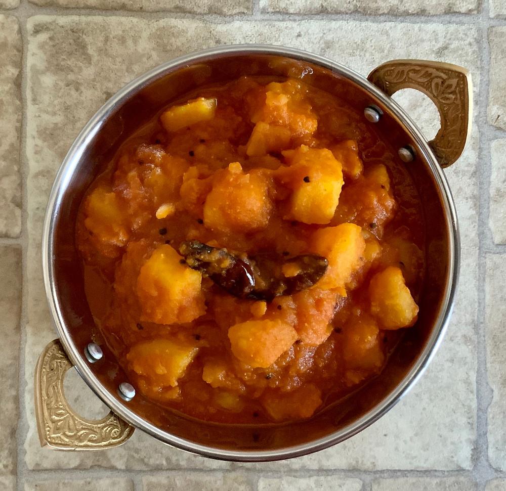 Batata Nu Shaak   The Rasoi Recipes