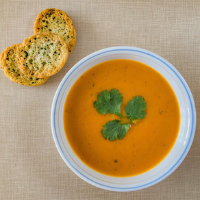 Butternut Squash & Root Vegetable Soup