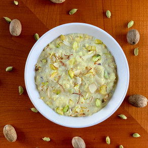 Kheer (Indian Rice Pudding)