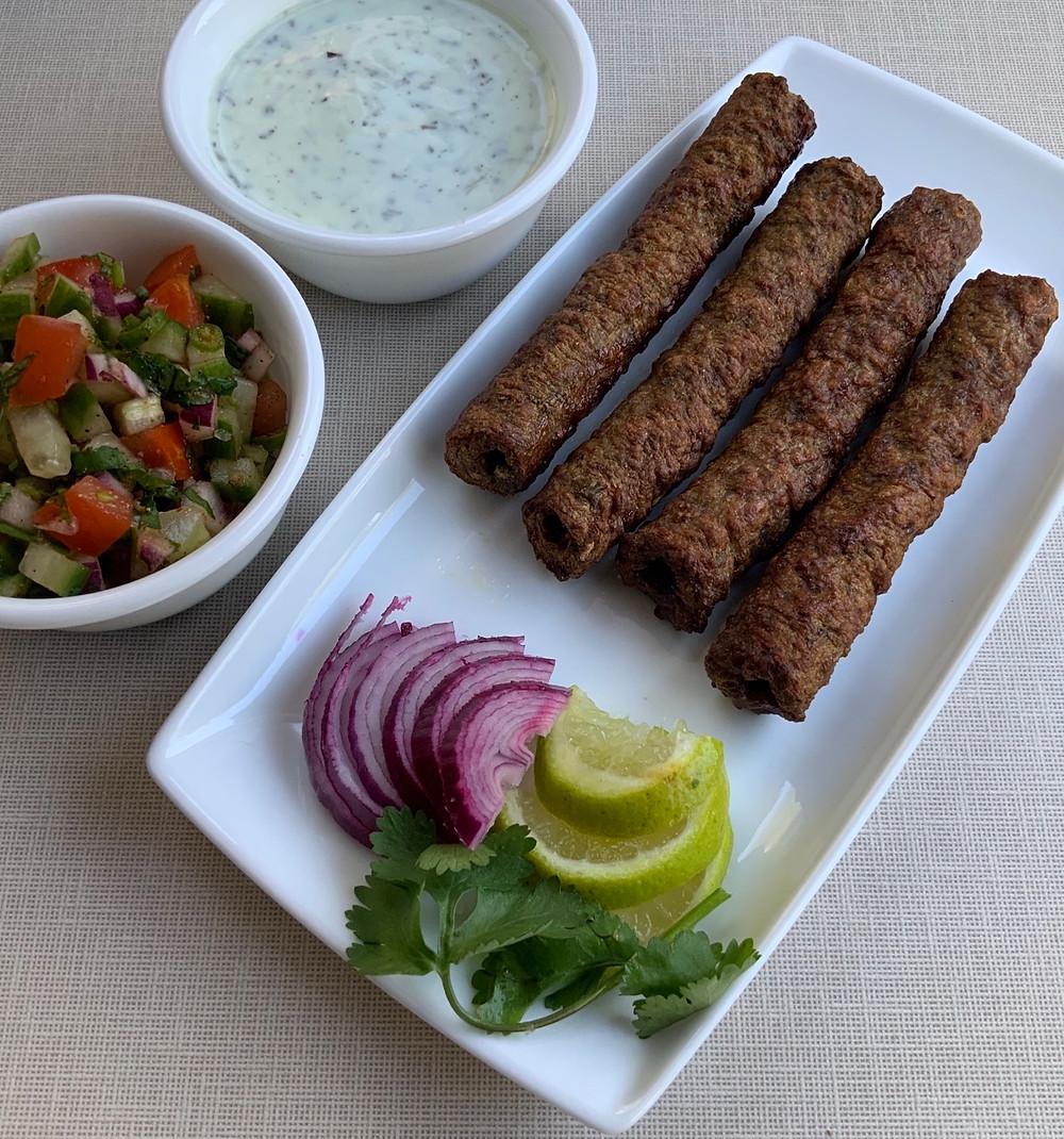Chicken Seekh Kebab   The Rasoi Recipes