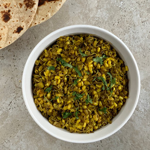Gujarati Vagharela Sprouted Moong