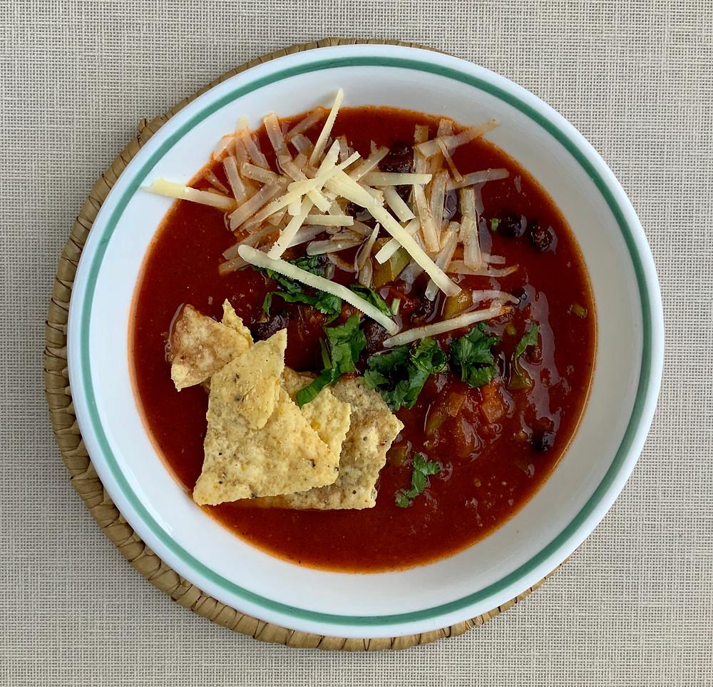Mexican Vegetable Soup   The Rasoi Recipes