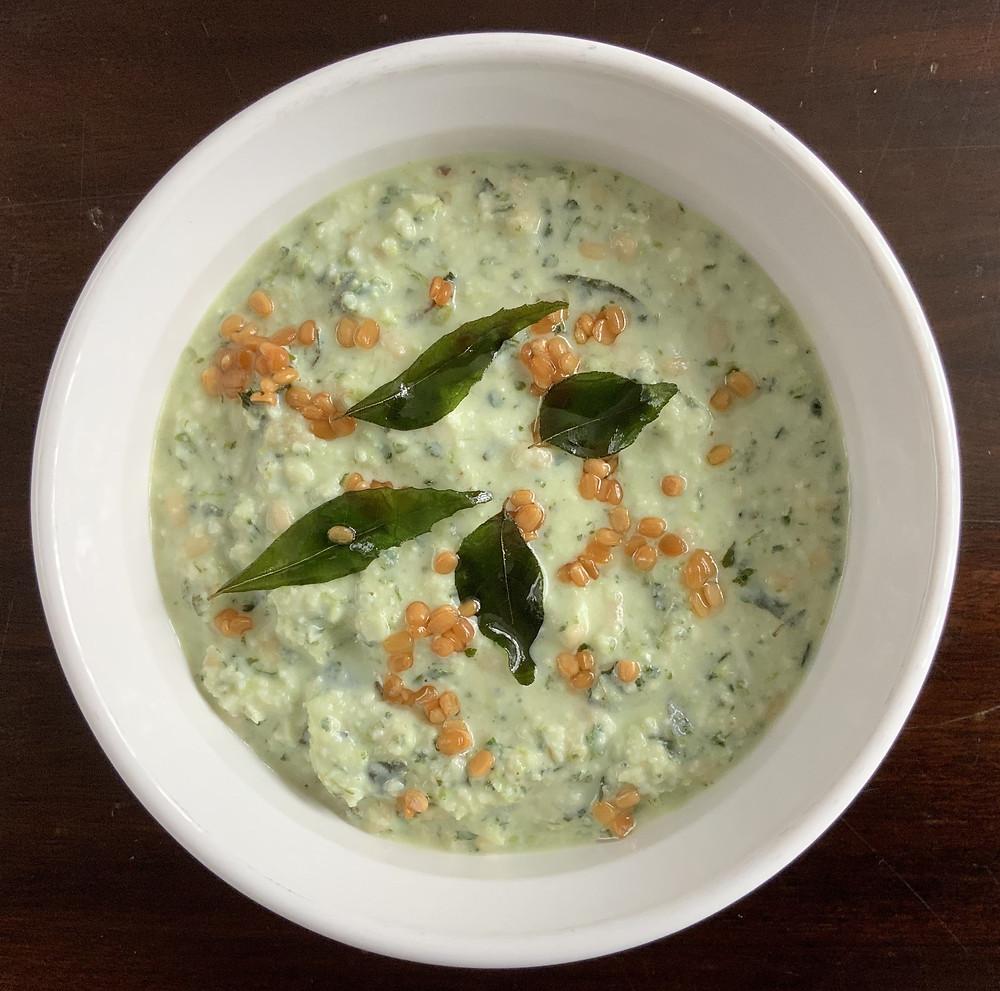 Green Coconut Chutney | The Rasoi Recipes