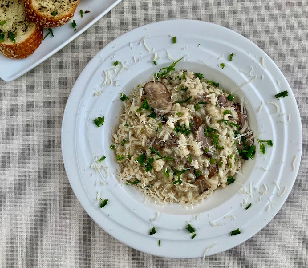 Mushroom Risotto   The Rasoi Recipes