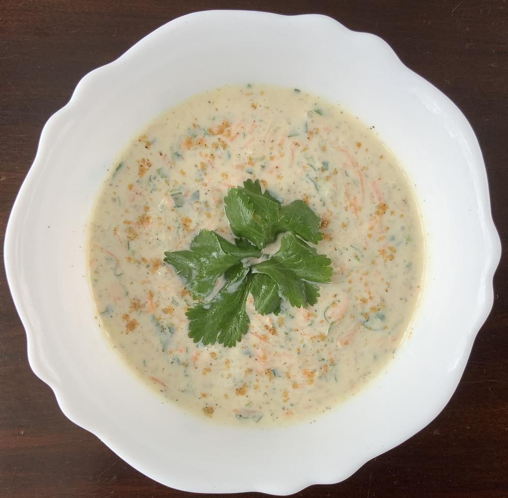 Carrot and Cucumber Raita | The Rasoi Recipes