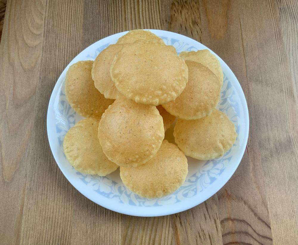 Puri for Pani Puri | Golgappas | The Rasoi Recipes