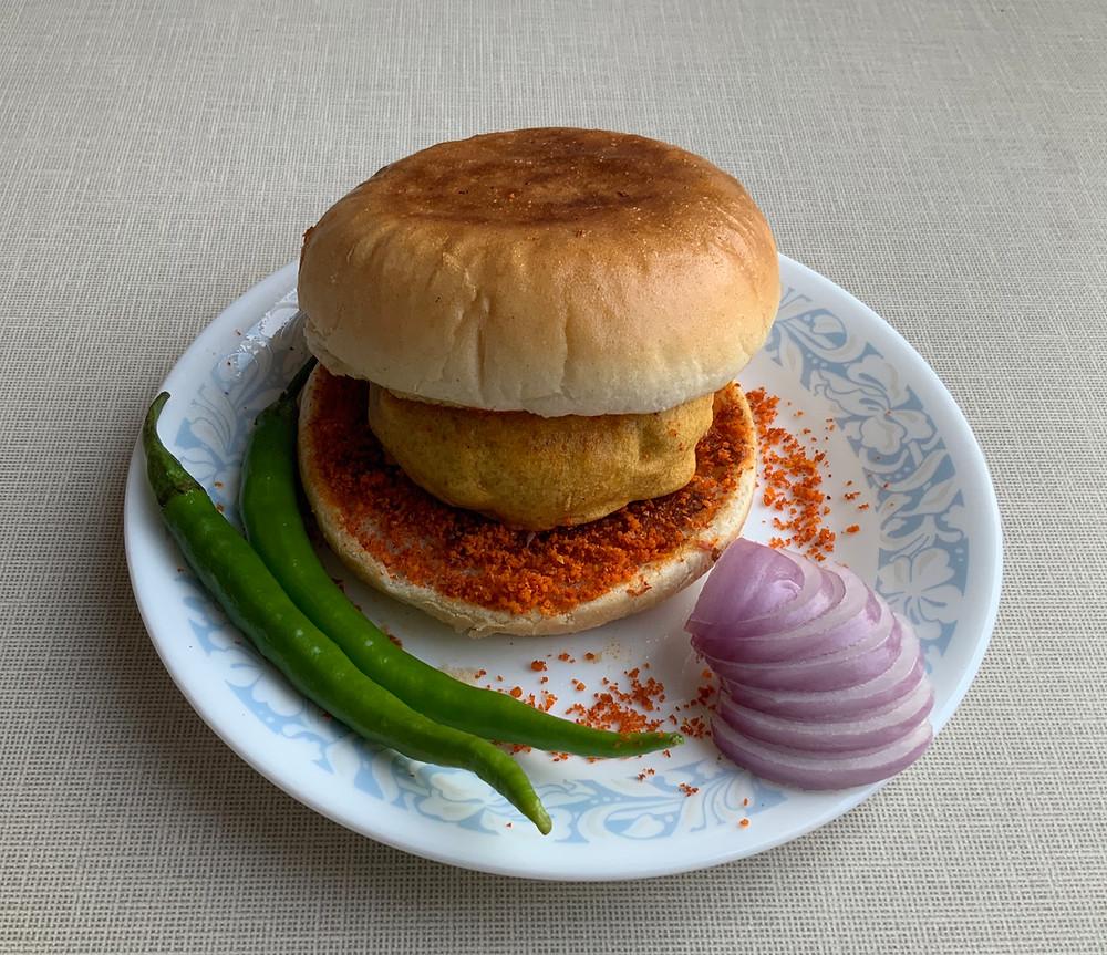 Vada Pav | The Rasoi Recipes