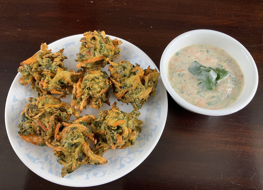 Methi Onion Carrot Bhajiya | The Rasoi Recipes