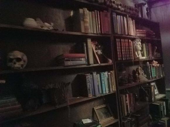 bookshelf funeral.jpeg