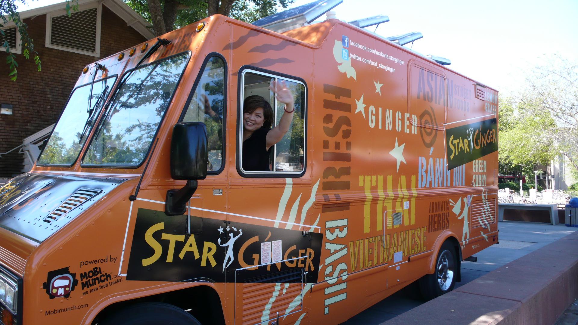 Want a ride on UC Davis food truck?