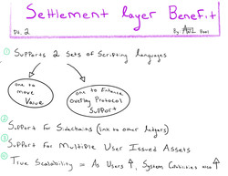 Settlement Layer Pt 2