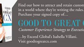 Press Release:  Good to Great CX - Customer Experience Strategy to Execution