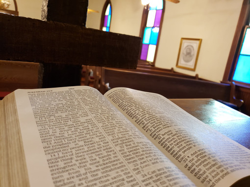 Peeled Oak Christan Church