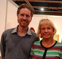 Buteyko therapeuten Masha Kotousova en Dennis Huizenga