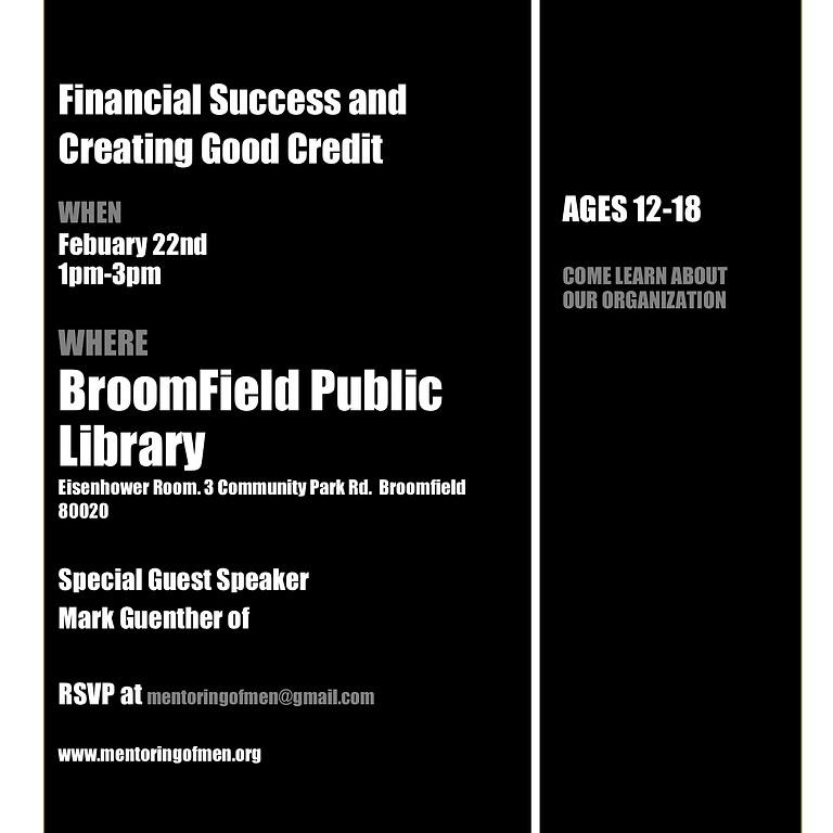 Financial Success and Creating Good Credit