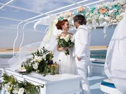 Свадебная церемония в на яхте