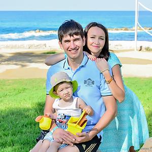 Семейная фотосессия на Кипре   Пафос