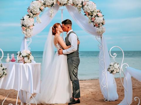Свадебная церемония в Шарм эль Шейх