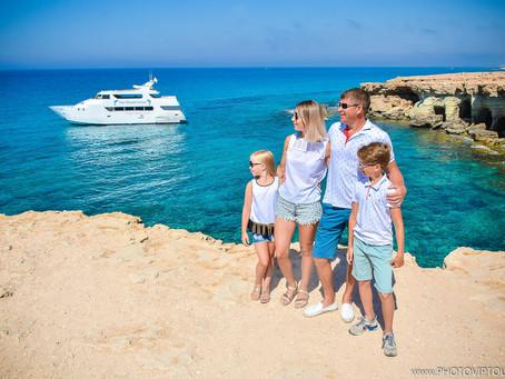 Семейная фотосессия на Кипре , Морские пещеры... Photoshoot in Cyprus , Sea Caves