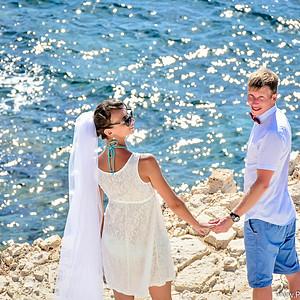 Свадебная прогулка по красотам Пафоса