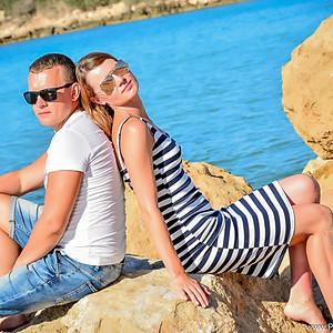 Семейная фотосессия на Кипре   Coral bay