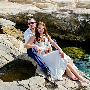 Wedding photoshoot in cyprus