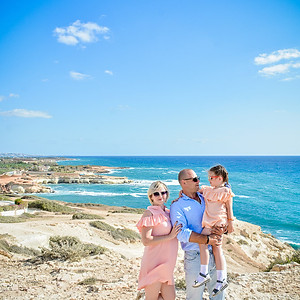 Семейная фотосессия на Пафосе