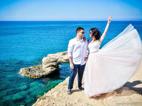 Свадебная фотосессия на курорте