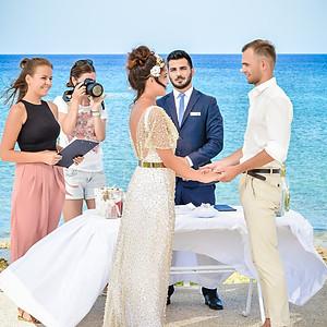 Выездная официальная церемония на Кипре
