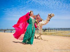 Фотосессия с верблюдом