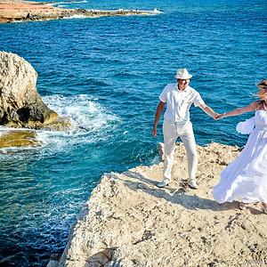 Свадебная фотосессия в Айя Напе , Протарас