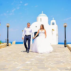 Свадебная съемка на Кипре   Протарас
