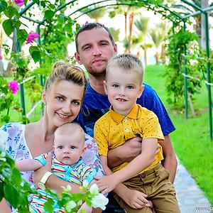 Семейная съемка на Кипре