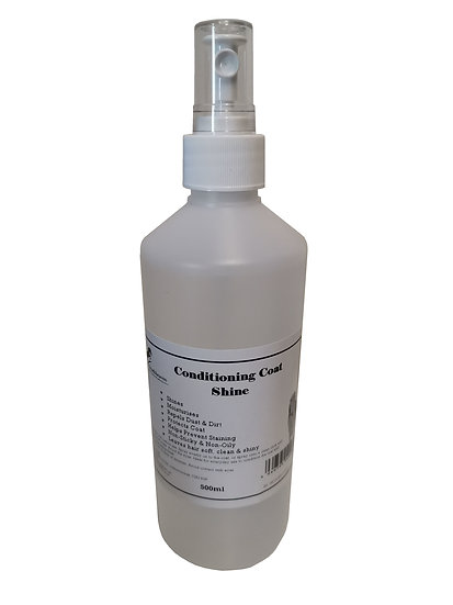 Equine Conditioning Coat Shine Spray for Horses 500ml. Repels dust & dirt.