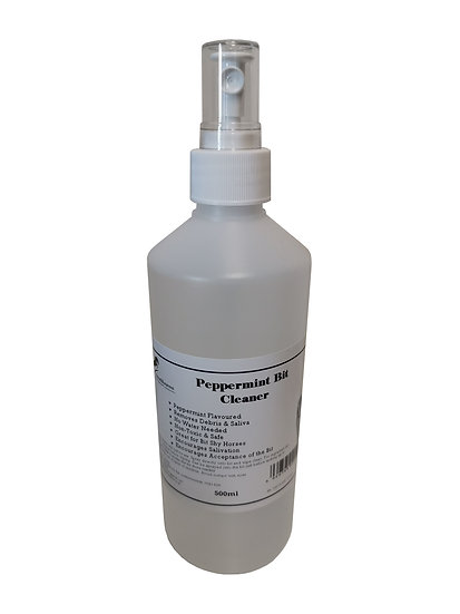 Equine Peppermint Bit Cleaning Spray