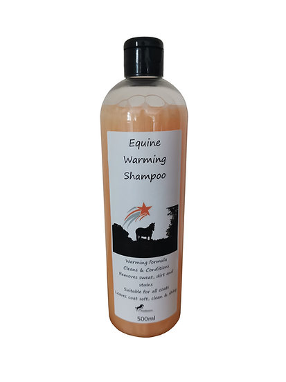 Warming Shampoo for Horses
