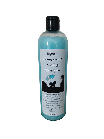Peppermint Cooling Shampoo for Horses