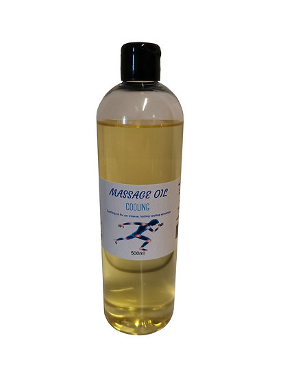 Cooling Sports Massage Oil
