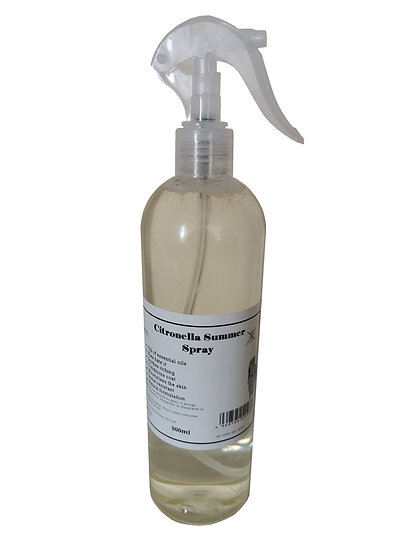 Equine Citronella Summer Spray for Horses 500ml. Fly protection. Soothes.