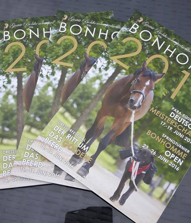 Titelbild Turniermagazin Gestüt Bonhomme