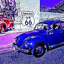 "1971 Super Beetle, All Stock/Original, ""Blu Turtle"""