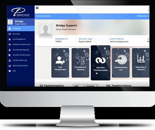 Phoenix Bridge is Smarter Global Payroll Transformation Software