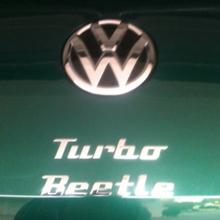 2017 Bottle Green Convertible  Turbo Beetle