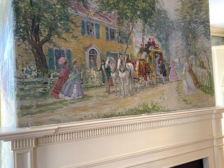 The origin of the murals