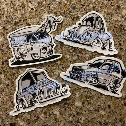 "Car Art 3"" Decal"