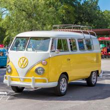 """1965 Eleven Window Walk Through Split Microbus """"Little Miss Sunschein"""""""