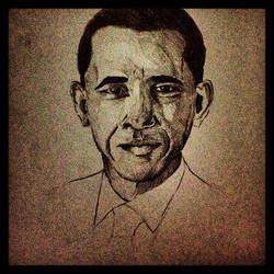 #shades #shapes #pencil #drawing #obama.jpg #halfasleep drawing portrait.jpg.jpg Jesus so much mor e