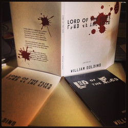 Book Jackets for Lord of the Flies~ Quite an interesting story~ 😝