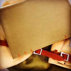 Matching bag and sketchbook~ 😝Close enough.